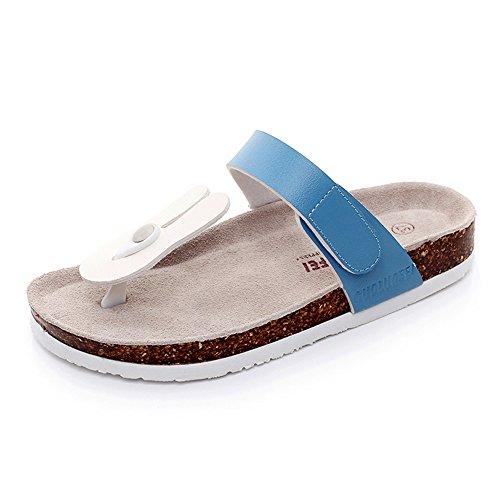 Zapatillas zapatos MEIDUO dibujos 40 playa Chanclas femeninos de de sandalias de de cómodo Sandalias de años animados corcho 18 BEPxwHCq