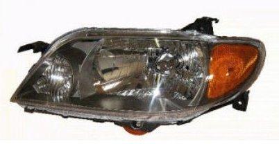 (Headlight Headlamp Driver Side Left LH for 01-03 Mazda Protege 4 Door)