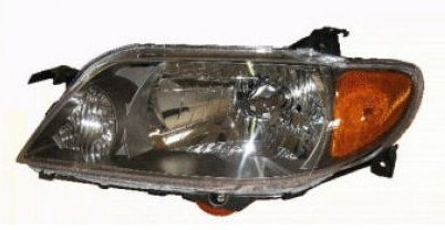 Protege Driver Side Headlight - Headlight Headlamp Driver Side Left LH for 01-03 Mazda Protege 4 Door Sedan