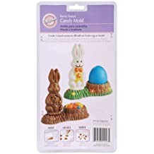 Wilton Bunny Basket Candy Mold