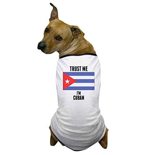 Cuba Costume (CafePress - Trust Me Im Cuban - Dog T-Shirt, Pet Clothing, Funny Dog Costume)
