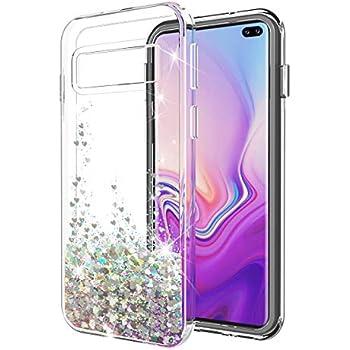Amazon.com: Samsung S10 Plus Cute Diamond Glitter 3D Kitty ...