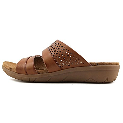 Jimina Traps Brown Casual Bare Slide Toe Womens Brush Open Sandals qOxET