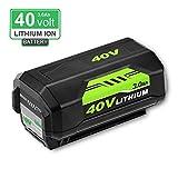Replacement ryobi 40 Volt Lithium Battery for Ryobi 40V RY40200 RY40403 RY40204 Cordless String Trimmer Battery