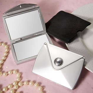 Design Compact Mirror Wedding Favors