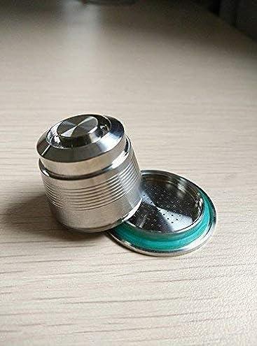 Cápsula de café de acero inoxidable para Nespresso Cafetera uso ilimitado