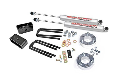 Rough Country - 750.20 - 2.5-inch Suspension Leveling Lift Kit w/ Premium N2.0 Shocks (2002 Tundra Lift Kit compare prices)