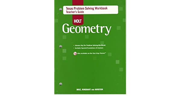 texas problem solving workbook geometry answers