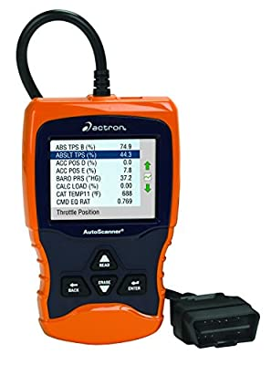 Actron CP9670 AUTOSCANNER Trilingual OBD II and CAN Scan Tool with Color Scree