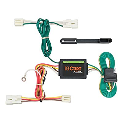 CURT 56254 Vehicle-Side Custom 4-Pin Trailer Wiring Harness for Select Hyundai Accent: Automotive