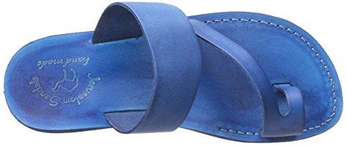 Sandales Jerusalem Hommes Zohar Bleu Sandale Slide