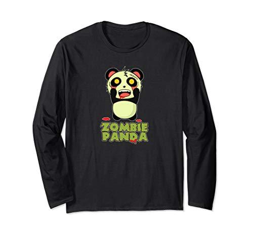Zombie Panda Halloween Long Sleeve -