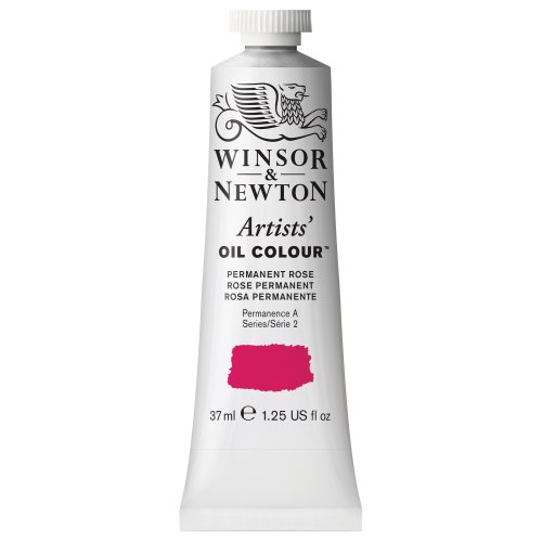 (Winsor & Newton Artists' Oil Colour Paint, 37ml Tube, Permanent Rose)
