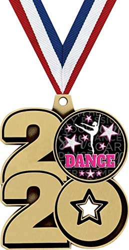 Crown Awards 2.25 2020 Dance Medals Gold Great Dance Medals Prime 2020 Dance Prizes