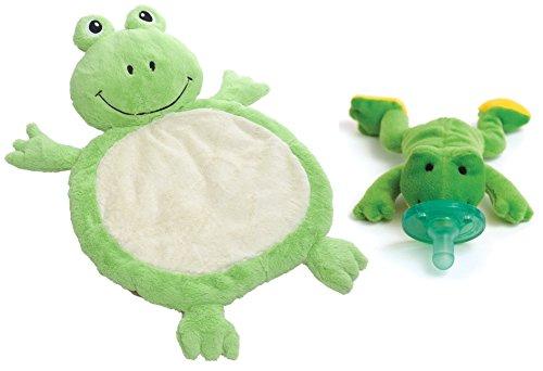 Bestever Baby Mat with WubbaNub Pacifier, Frog