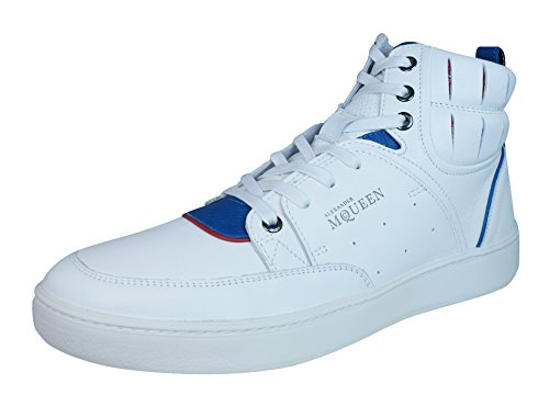 Puma Alexander McQueen Summer Joust Mens Leather Sneakers / Hi Tops-White-7.5 by PUMA