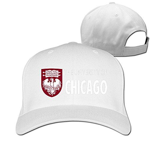 Price comparison product image ZULA New Design Unisex-Adult The University Of Chicago Baseball Cap Hats White