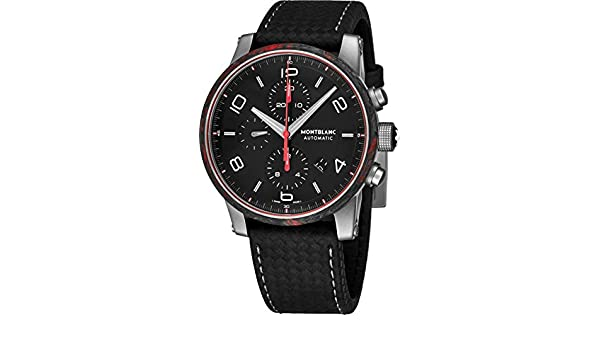 Amazon.com: MontBlanc Timewalker Chronograph Automatic Mens Watch 114881: Watches