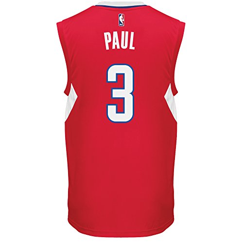 886411356260 - NBA Los Angeles Clippers Chris Paul #3 Men's Replica Jersey, Small, White carousel main 1