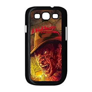 A Nightmare on Elm Street Horror Movie Custom Hard Plastic Back Case Cover for Samsung Galaxy S3 I9300