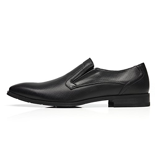 Faranzi Oxford Skor För Män Cap Toe Oxford Mens Finskor Zapatos De Hombre Snörning Bekväma Klassiska Moderna Formella Affärer Skor Seve-1-svart