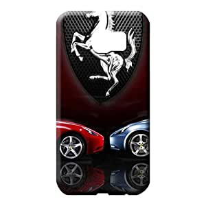 samsung galaxy s6 edge Slim Plastic For phone Cases cell phone carrying shells Aston martin Luxury car logo super