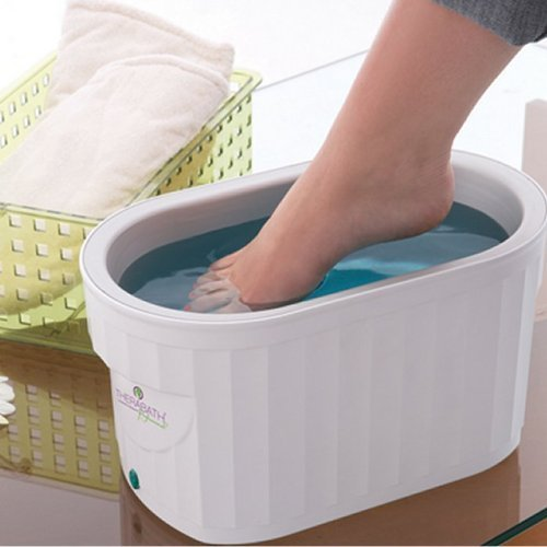 TherabathPRO Combo Foot ComforKit Heat Therapy Unit-Blooming Lilacs