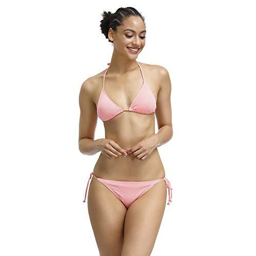7TH SUMMER Women's Triangle Bikini Set,Tie Side Bottom Triangle Bikini Swimsuits]()