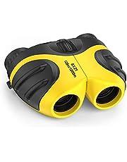 LET'S GO! Binocular for Kids, Compact High Resolution Shockproof Binoculars