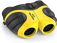 LET'S GO! Binocular for Kids, Compact High Resolution Shockproof Binocu