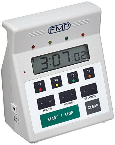 FMP 151-7500 Digital 4 -Channel Commercial Kitchen Countdown Timer, Water ()