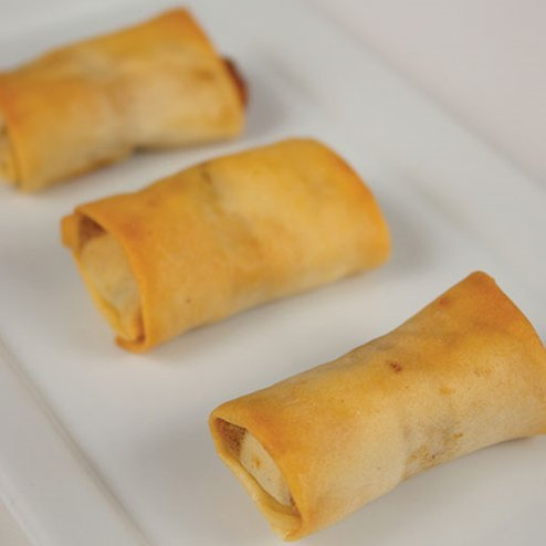 Order Bulk Philly Cheese Steak Spring Roll for Event - Gourmet Frozen Beef Appetizers (Set of 8 Trays) by Appetizersusa