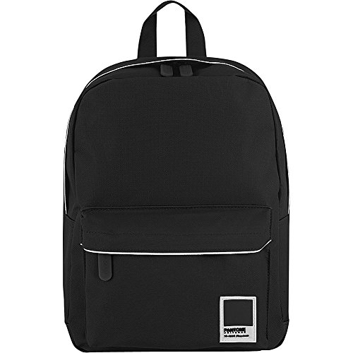 Pantone Small Backpack Durable Hiking Travel Mini Back Pack Black Phantom (Pantone Luggage Tag)