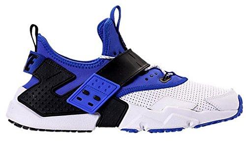 ナイキ メンズ スニーカー Nike Air Huarache Drift Premium エアハラチ ドリフト White/Racer Blue/Black [並行輸入品]