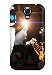 CaseyKBrown Case Cover For Galaxy S4 - Retailer Packaging Wall E And Eve Protective Case