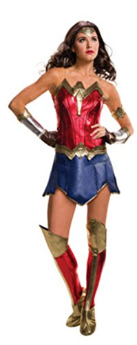 Secret Wishes Batman v Superman: Dawn of Justice Wonder Woman Costume (Womens Costumes)