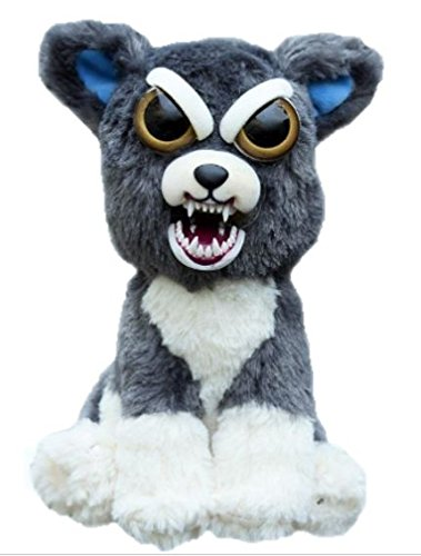 William Mark- Feisty Pets: Sammy Suckerpunch- Adorable 8.5″ Plush Stuffed Dog