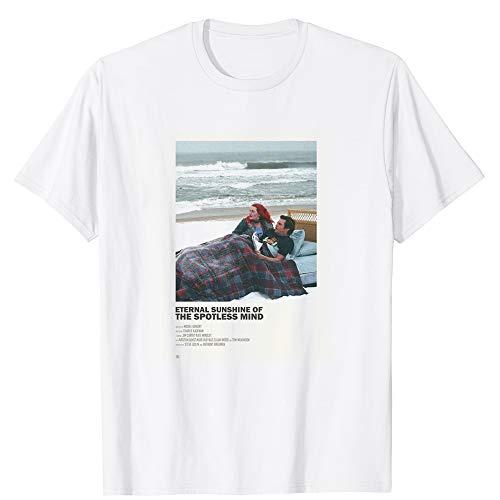 Eternal Sunshine of The Spotless Mind Kate Jim Romantic SciFi Comedy Film Vintage Gift Men Women Girls Unisex T-Shirt (White-L) (Eternal Sunshine Of The Spotless Mind Wallpaper Desktop)