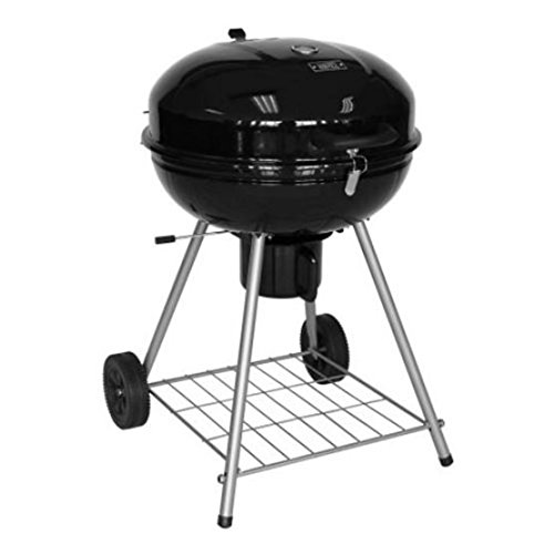 All Time Classic BBQ Grill - Kettle Type Standard 22.5 inch Charcoal Barbecue Grills for 21 Burgers in a Party - Removable Legs And Ash Tray