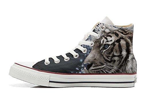 blauen Augens Schuhe All Converse Star Schuhe Tiger Handwerk Hi Customized personalisierte 7zqvOxXwq