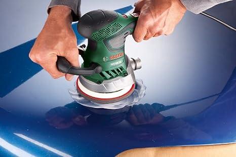 Bosch 2 609 256 A32 Juego de hojas de lija de 5 piezas para lijadora exc/éntrica