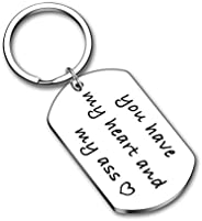 Valentines Day Gift Keychain for Husband Boyfriend From Girlfriend Wife Anniversary Birthday Gifts For Couple