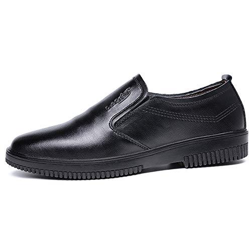 Daxx Leather - Men's Dress Shoes Wingtip Brogue Leather Oxford Work Shoes(Black-Lable 46/11.5 D(M) US Men)
