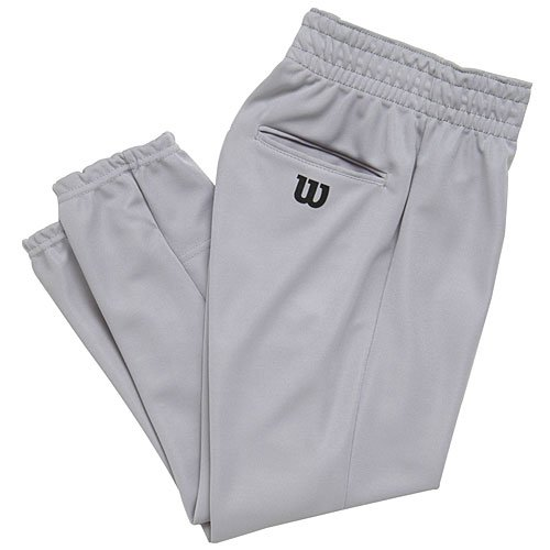 Wilson Youth Basic Classic Fit Baseball Pant, Grey, Large