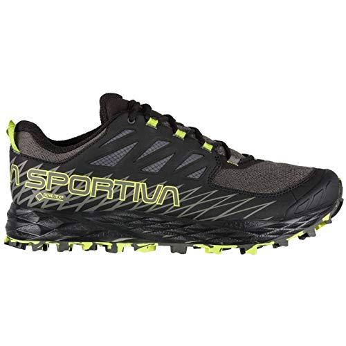La Sportiva Lycan GTX Running Shoe, Carbon/Apple Green, 46.5