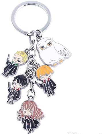 Harry Potter Keychain Golden Keyring Snitch Pewter Key Ring collection