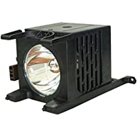 AuraBeam Professional Television Replacement Lamp for Toshiba Y196-LMP with Housing (Powered by Phoenix)