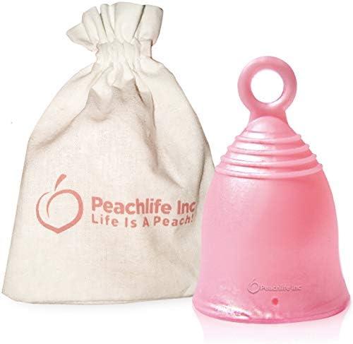 Large Menstrual Alternative CAMELLIACUP Peachlife product image