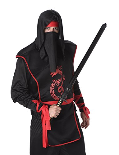 [Men's Ninja - Halloween Costume (M)] (Viking Outfits For Adults)