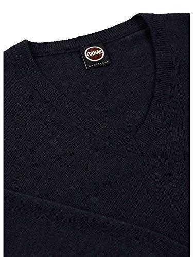 4454 blu pullover 8ss Uomo Maglia 68 Originals Colmar 510wxgw